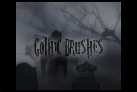 100+ Free Gothic Brushes For Photoshop