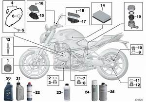 2014 Bmw R1200r Oil Filter  Inspection  Maintenance