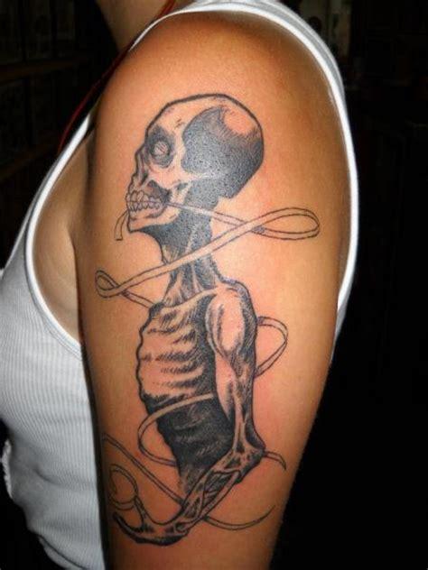 shoulder skeleton tattoo  sonic tattoo