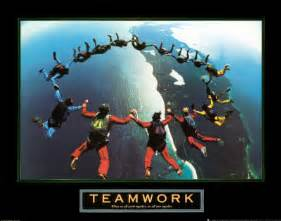 Cheesy Business Teamwork Motivational Posters