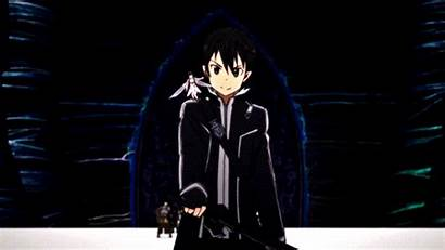 Sword Kirito Asuna Anime Fight Gifs Ready