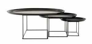 Table Gigogne Design : table basse design patricia urquiola tables gigognes fat fat ~ Teatrodelosmanantiales.com Idées de Décoration