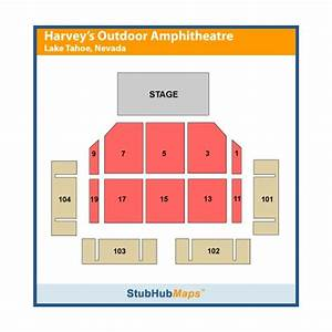 Seating Chart For Summer Concert Series Lake Tahoe