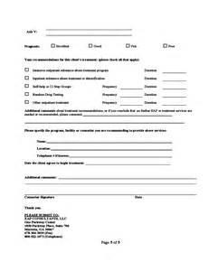 job resume template pdf substance abuse assessment form free download