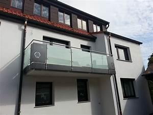 Balkongeländer Glas Anthrazit : galerie edelstahl glas alu balkongel nder rettner ziegler balkongel nder ~ Michelbontemps.com Haus und Dekorationen