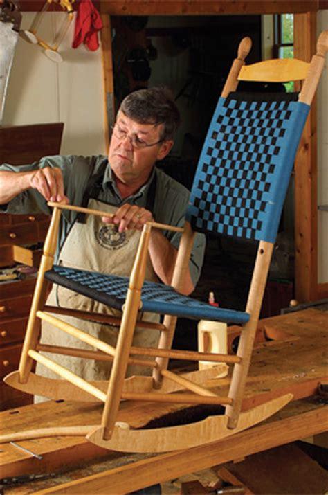 woodworking plan build  shaker rocker finewoodworking