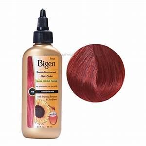 Bigen Intensive Red R4 Semi Permanent Hair Color Beauty