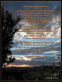 Full Original Serenity Prayer