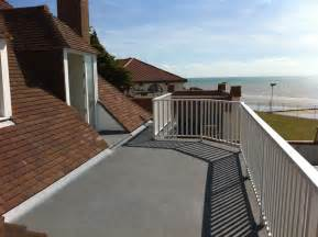 Roofed Balcony grp fibreglass balcony covering advanced roofing