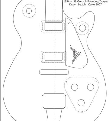 woodworking central acoustic guitar plans  templates