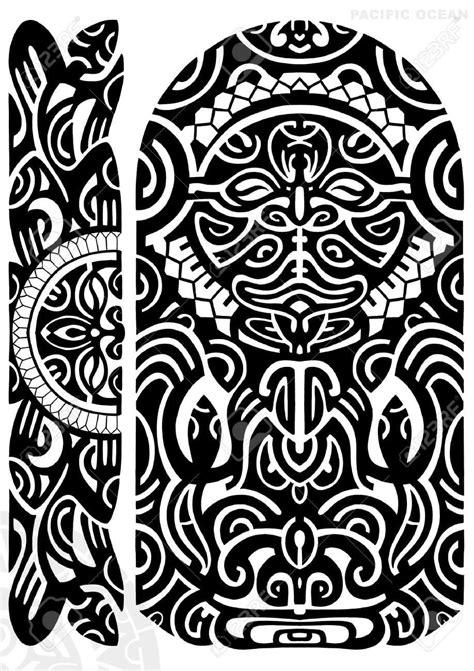 black tribal hawaiian tattoo stencil polynesian armband