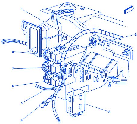 Pontiac Acadian Engine Electrical Circuit Wiring