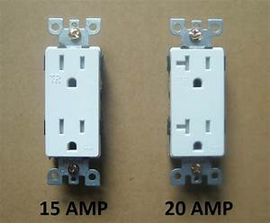 Decora Wall 15a    20a Amp Receptacle Plug Outlet Fit 5325