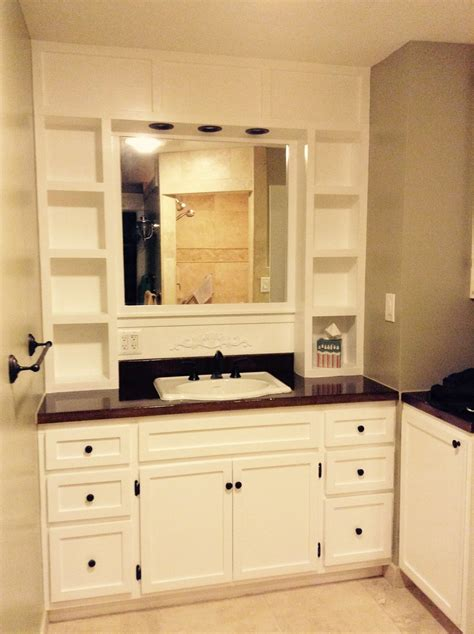 ana white vanity built  diy projects