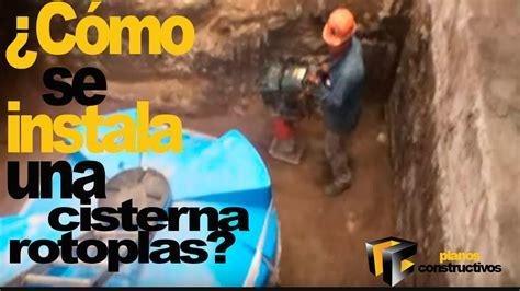 instalacion cisterna rotoplas youtube