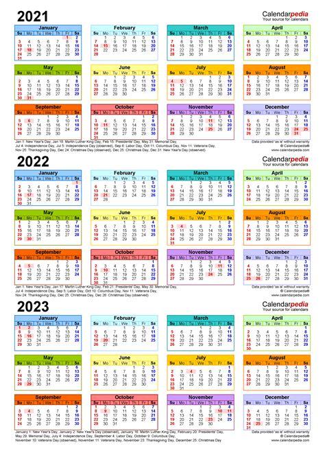 year calendar  printable  templates