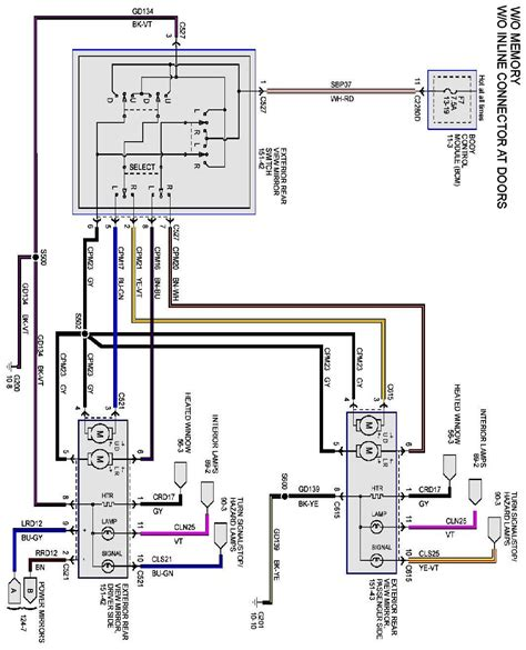 2000 Ford Explorer Side Mirror Wiring Diagram by Looking For A 2011 F150 Mirror Wiring Diagram For Power