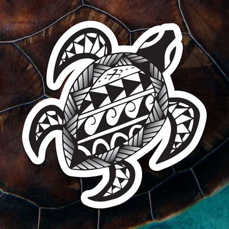 polynesian turtle maui sticker company
