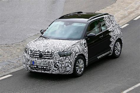 We Spy Vw's Upcoming Baby Crossover, The 2019 Tcross