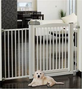 extra wide dog kids tension mount gate fence 2 colors ebay With extra wide dog gates