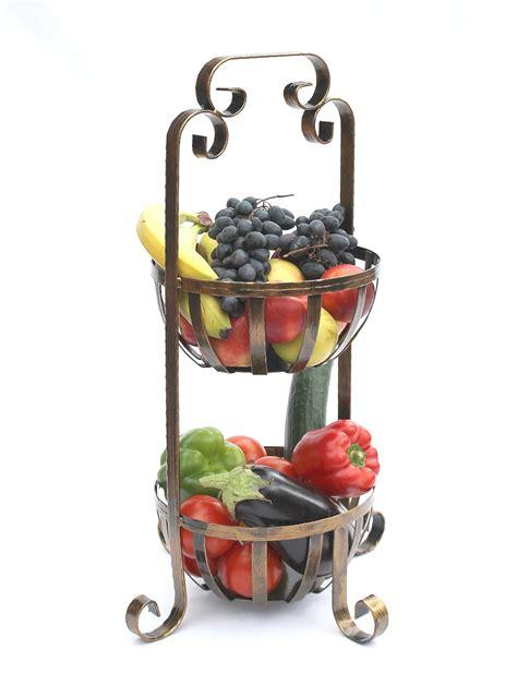 Etagere Obstkorb 10320 Gemüsekorb 62cm Küchenregal Mit 2