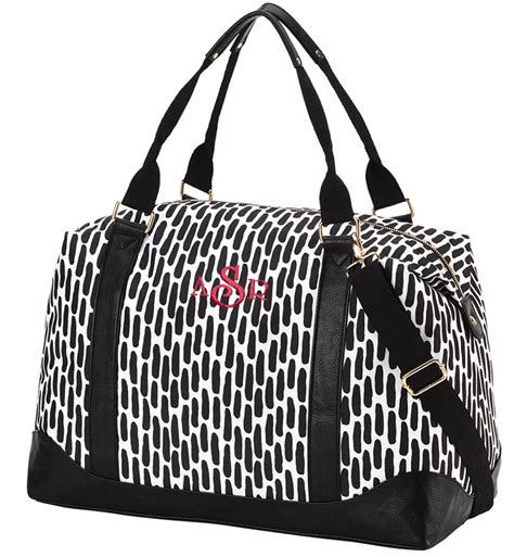 embroidered cosmetic travel bag monogram