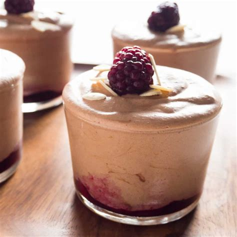 Blackberries Coconut Almond by Blackberry And Almond Chocolate Mousse Frifran