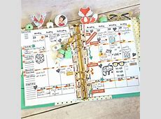 Free Planner Printable A5 2page Vertical Insert – Art