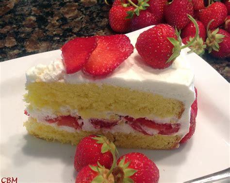 la cuisine de aux fraises dans la cuisine de blanc manger shortcake aux fraises