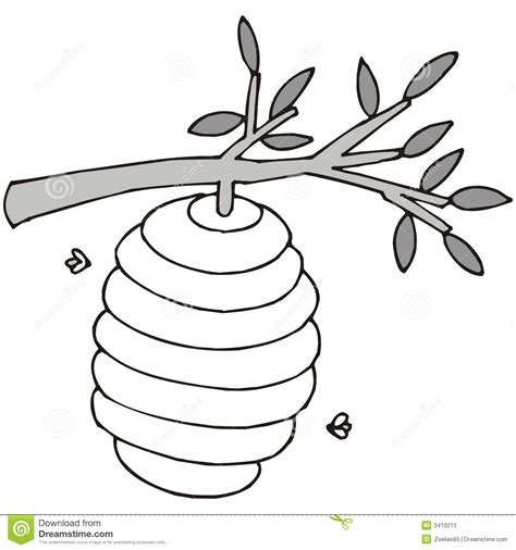 beehive black white clipart clipart suggest