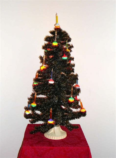 noma 21 lite c 6 bubble light tree vintage christmas