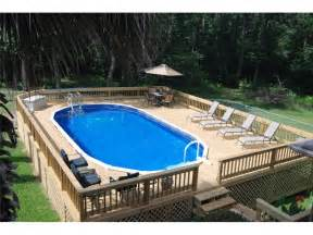 what you must know about above ground pool ideas