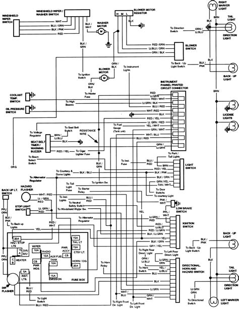 1986 F250 Fuse Box Diagram by 1985 F250 5 8l Wiring Diagrams And Fuse Box Diagram Ford