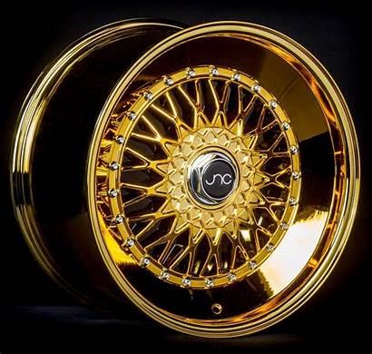 Jnc Wheels Gold Platinum 004s 17x8
