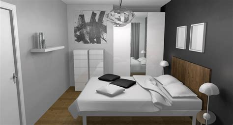 d馗oration chambre moderne chambre adulte grise et jaune idées de décoration capreol us