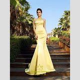Champagne Mermaid Prom Dresses | 600 x 800 jpeg 149kB