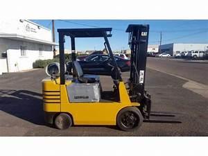 Caterpillar Gc25 5000lbs Lpg Forklift W   Side Shift