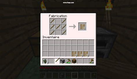 comment faire une cuisine dans minecraft tuto comment faire une echelle dans minecraft