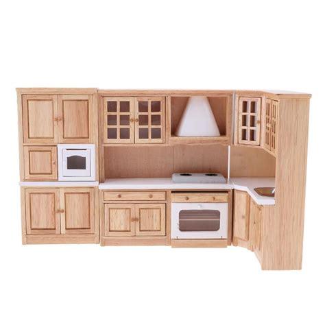buy kitchen furniture bolehdeals 1 12 luxury wooden kitchen cabinet cupboard