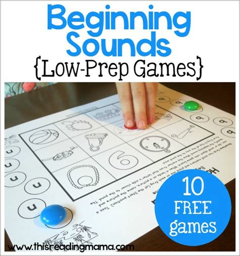10 Free Beginning Sounds Games  The Measured Mom