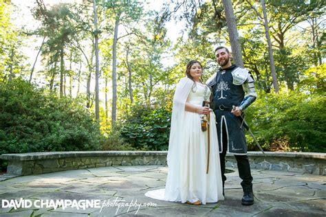 norfolk botanical garden lord of the rings themed wedding