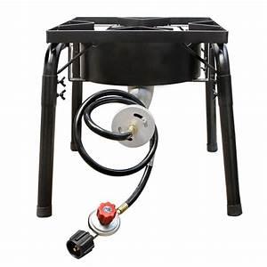 Large Propane Portable Gas Stove Burner Camper Cooker High ...