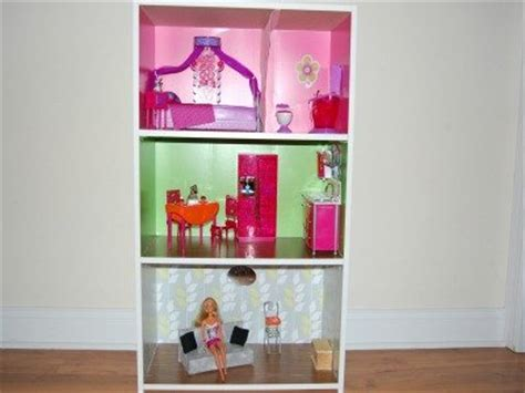 Dolls House Bookcase by Diy Dollhouse From A Bookcase Wilmingtonparent
