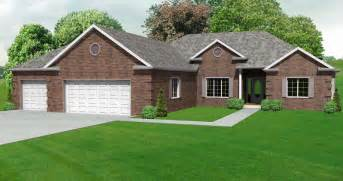 ranch home plans with basements split bedroom ranch hosue plan 3 bedroom ranch house plan with basement the house plan site