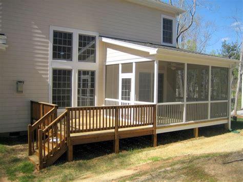 shed roof patio deck   porch house  porch