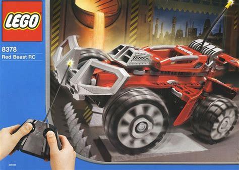 red beast rc brickset lego set guide