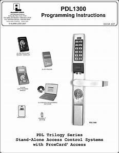 Trilogy Lock Programming Instructions