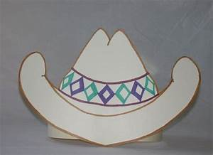 paper cowboy hat template http wwwjanetsquirescom hat With paper cowboy hat template