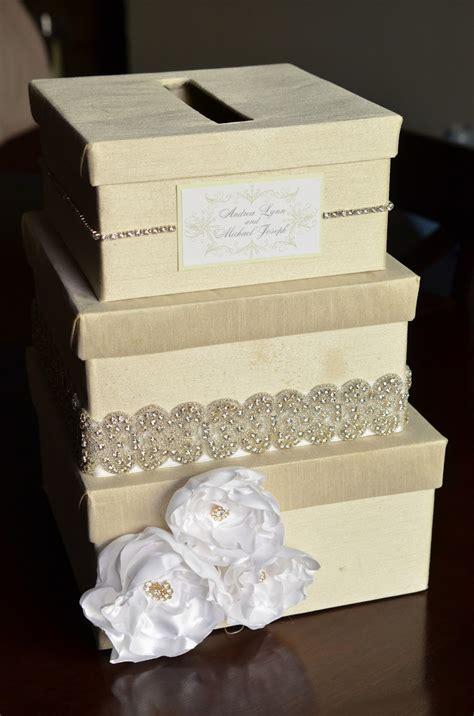diy wedding card box tutorial andrea handmade