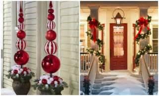 outside holiday christmas decorating ideas youtube
